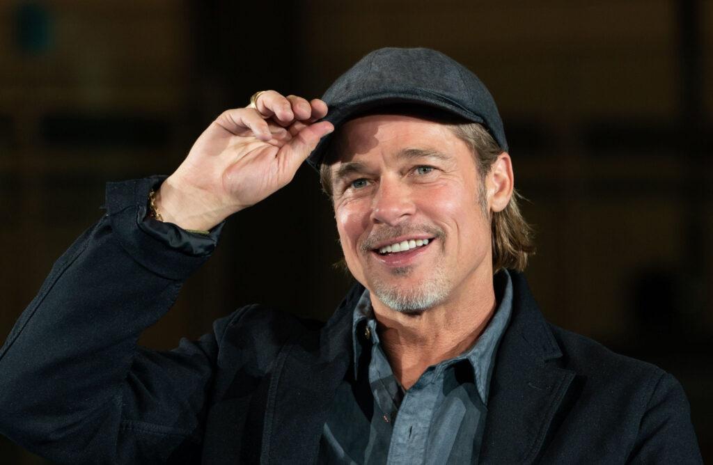 Brad Pitt Smile