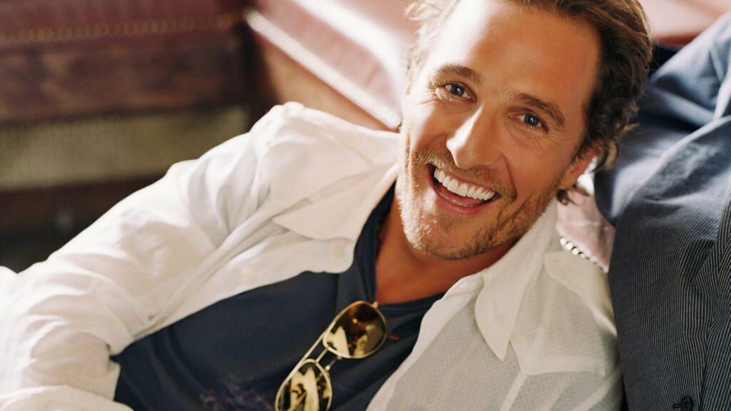 Matthew McConaughey Smile
